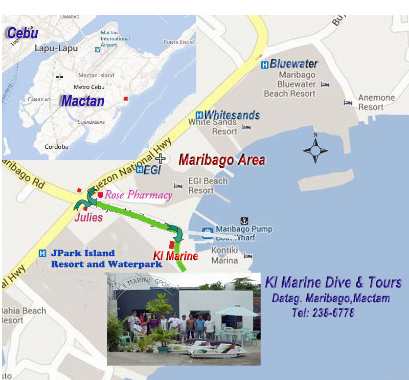 map to go ki marine